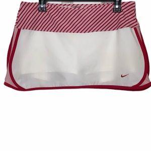Nike Fit Dry Skort White & Pink Sz. Medium